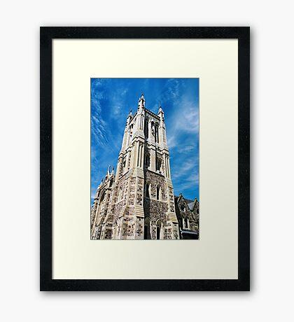 """City of Churches"" Framed Print"