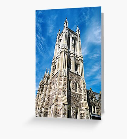 """City of Churches"" Greeting Card"