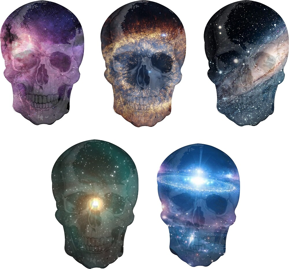 Skulls Universe by crazyowl