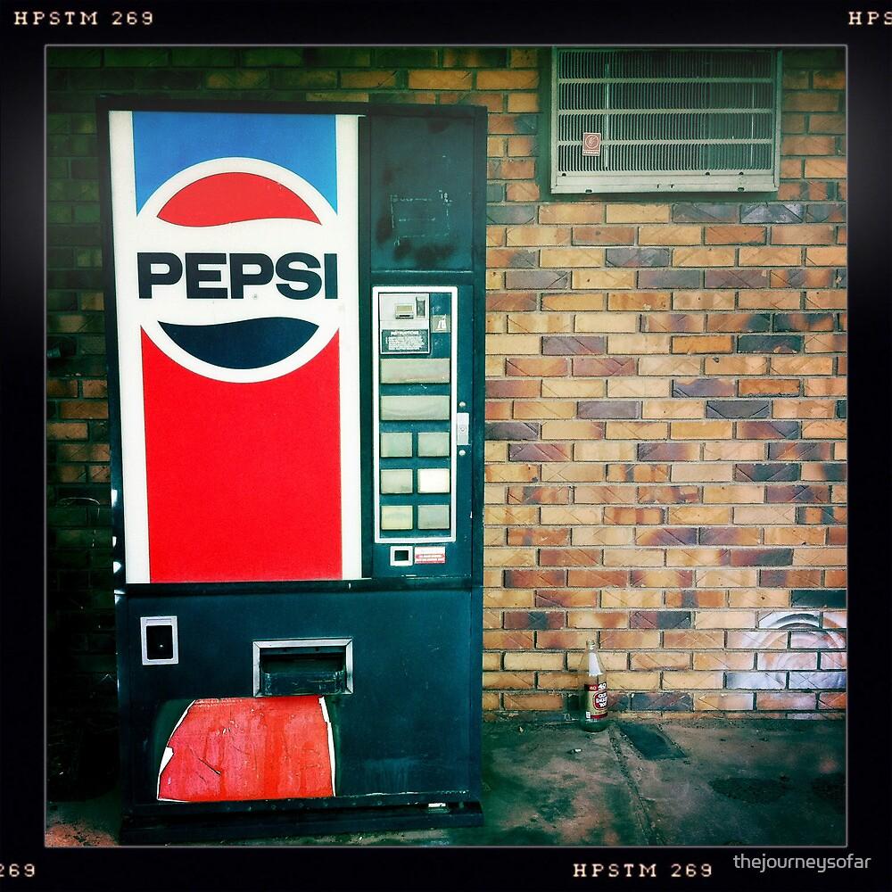 Pepsi Vending Machine by thejourneysofar