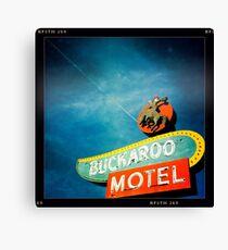 Buckaroo Motel Canvas Print