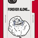Forever Alone Face MEME by DamianL