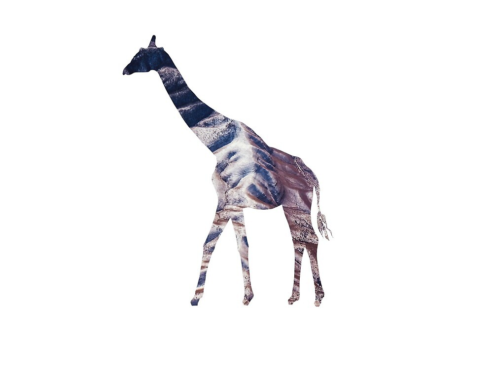 Mountain Giraffe by HaveyJunior