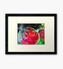 Swirling Jello Framed Print