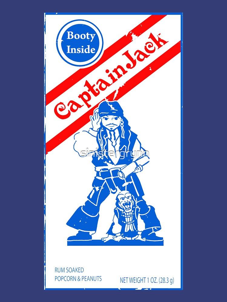 Cracker Jack Sparrow by sinistergrynn