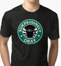 Sherlock's Coffee (Surprisingly Okay) Tri-blend T-Shirt