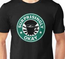 Sherlock's Coffee (Surprisingly Okay) Unisex T-Shirt