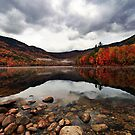 Peak Color - Basin Pond by T.J. Martin