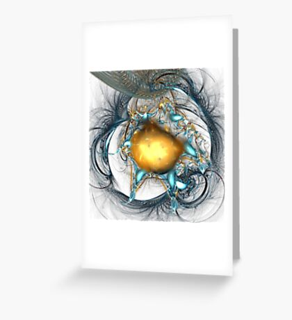 More than dust and ashes Greeting Card