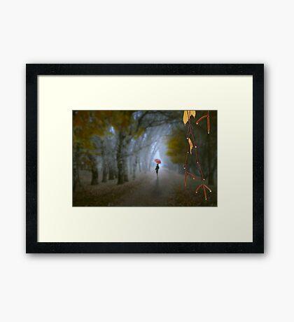 A Day In November Framed Print