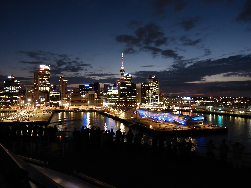 Arriving in Auckland by PhotosByG