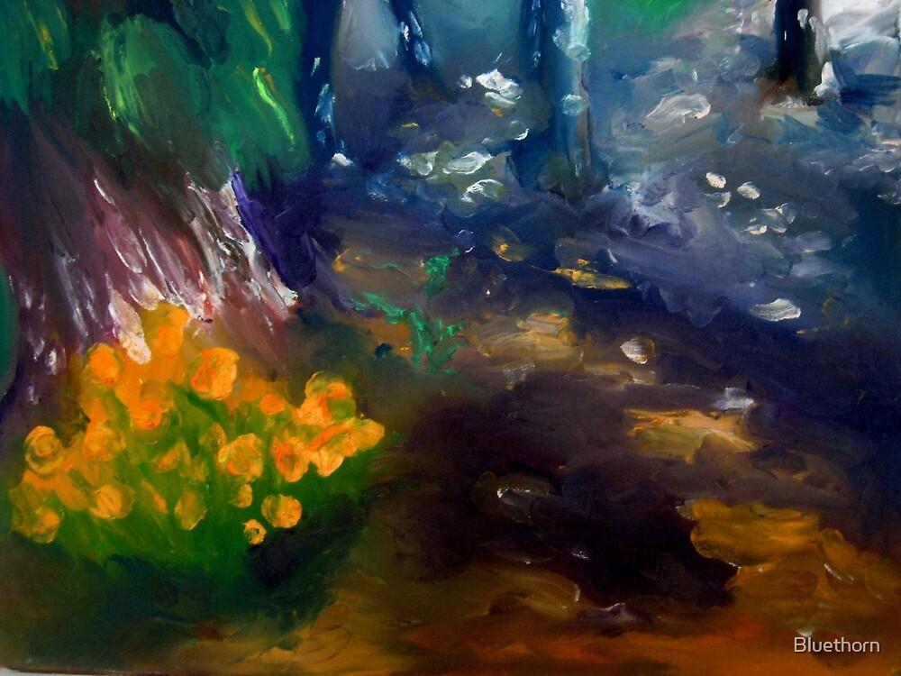 california poppy by Bluethorn