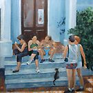 Lunch in the shade by Carole Russell