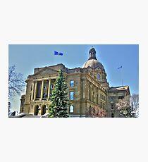 Alberta's Legislature Photographic Print