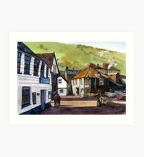 The Slipway - Port Isaac, Cornwall Art Print