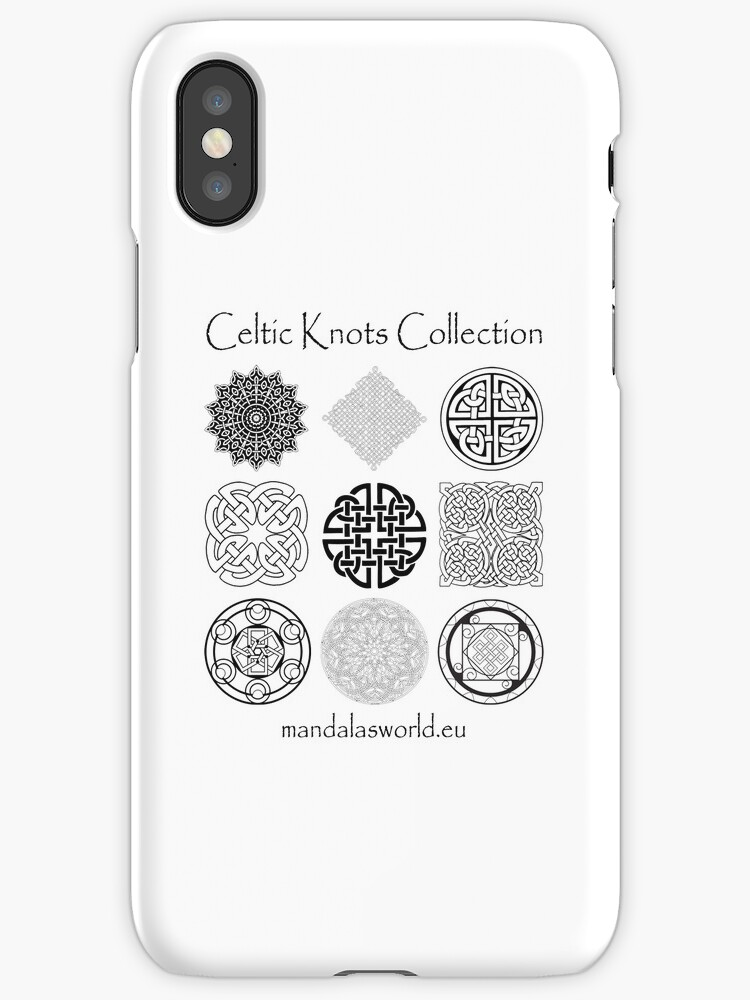 Celtic Knots Collection Dark by Mandala's World