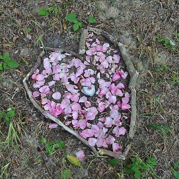 flowers in heart shape by 64stops