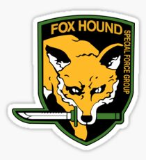Metal Gear Solid - FOXHOUND Sticker