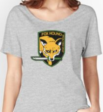 Metal Gear Solid - FOXHOUND Women's Relaxed Fit T-Shirt