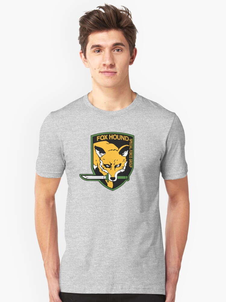 Metal Gear Solid - FOXHOUND Unisex T-Shirt Front