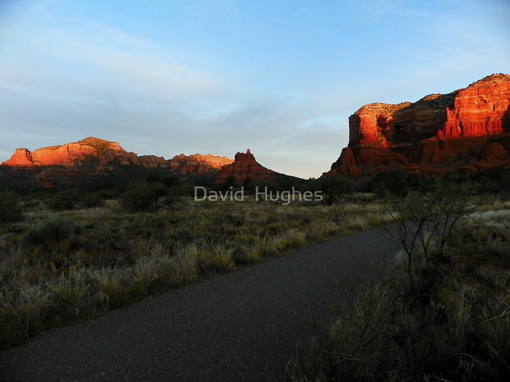 Sun Warms Faces of Red Rock Country by David  Hughes
