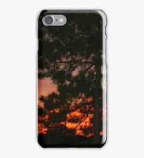 Sunset over Lake Powhatan iPhone Case/Skin