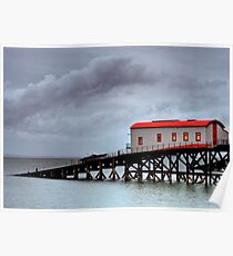 Tenby Lifeboat House 3 Poster