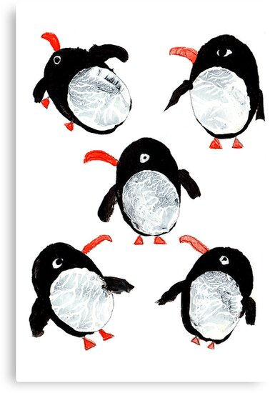 Colony of Penguins by artJBP