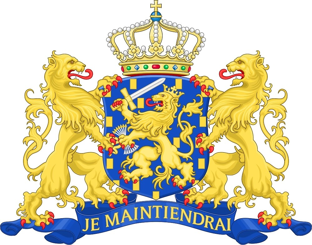 State Coat of Arms of Netherlands by abbeyz71