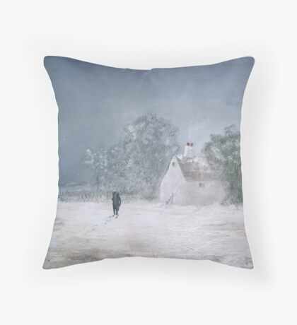 Nearly Home Throw Pillow