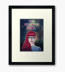 The future is now Framed Print