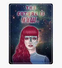 The future is now Photographic Print