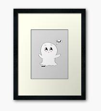 Boo! Framed Print