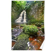 Wharfedale Waterfall 2 Poster