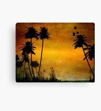 Could Be Paradise Canvas Print