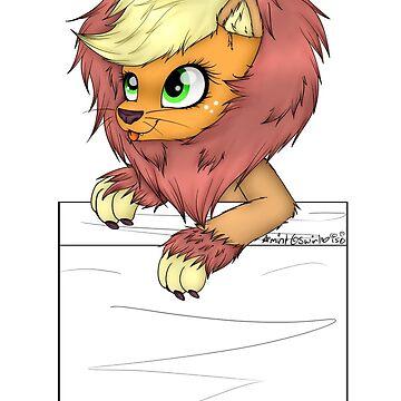 Lion Applejack by mintyswirl
