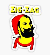 ZIG-ZAG PAPER Sticker