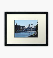 USS Little Rock Framed Print