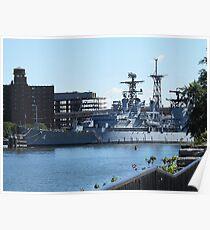 USS Little Rock Poster