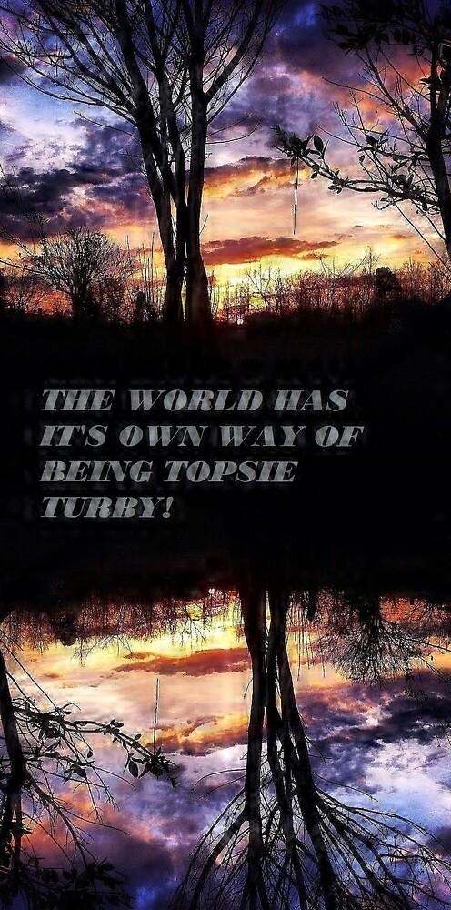 UPSIDE DOWN KINDA WORLD! by Amanda31223