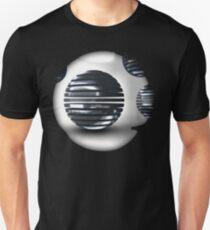 Gridded Spheres Unisex T-Shirt