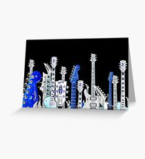 guitar city Greeting Card