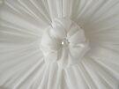 Rosette On My Custom Designed Lampshade by Sandra Foster
