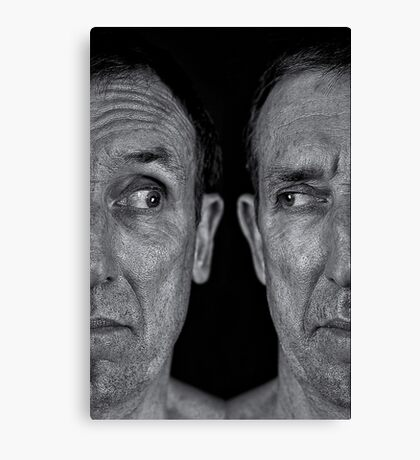 Split Personality Canvas Print