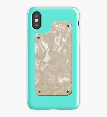 Vintage Seafoam Green with Pearloid iPhone Case/Skin