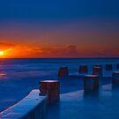 Coogee Sunrise by Erik Schlogl