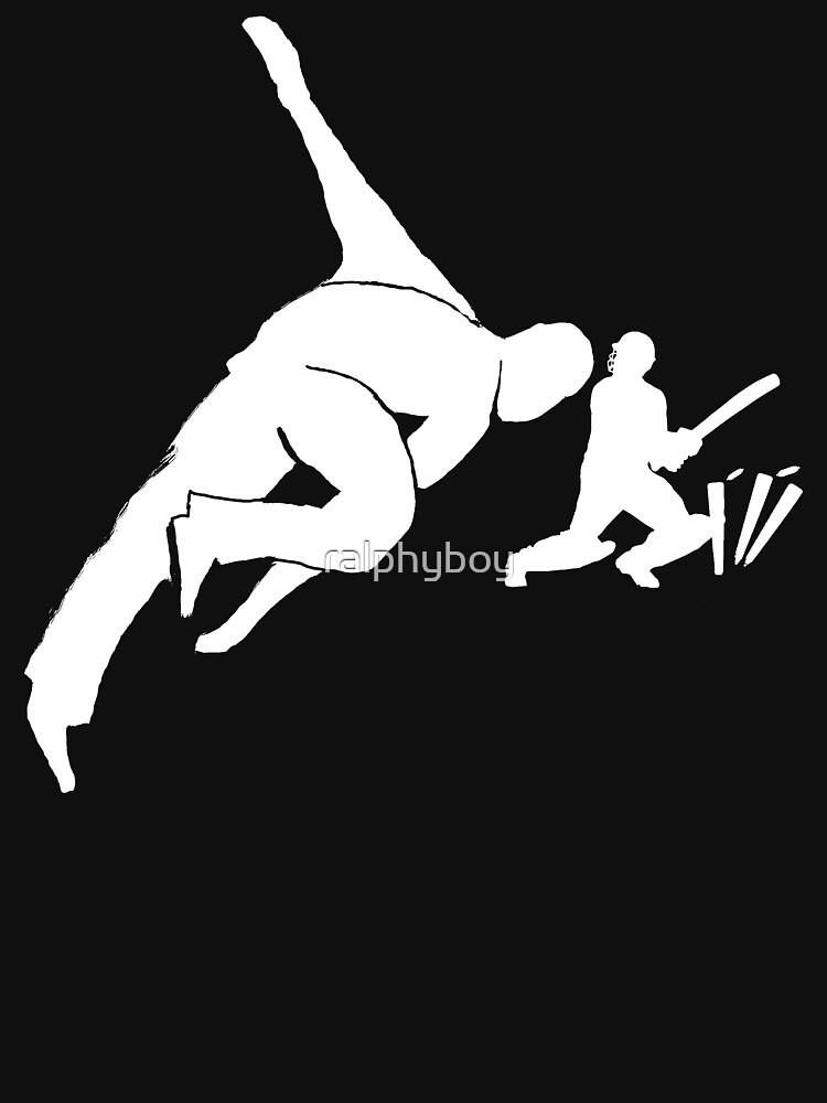 The Cricket T-shirt on dark by ralphyboy