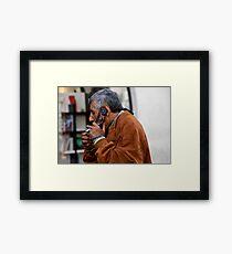 Smokin' Call Framed Print