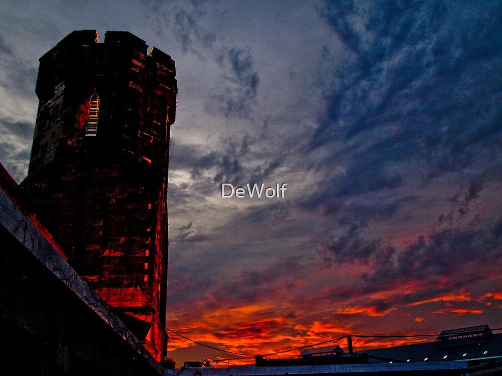 Prison Sunset by Denise Sparks