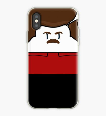 Happy Ron Swanson iPhone Case